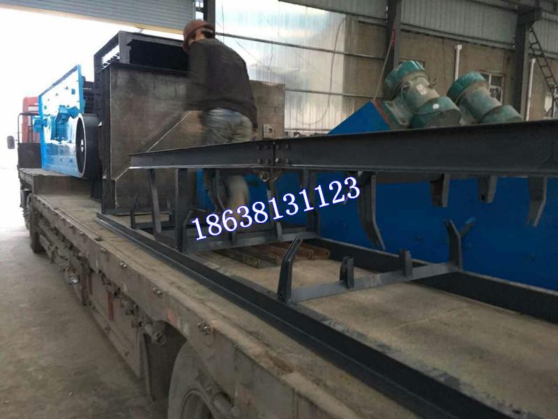 石子生产线整套设备发货现场